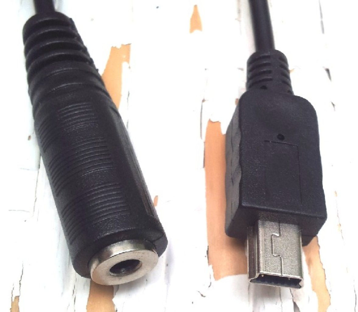 Cable Mini Usb A Jack 3 5 Hembra Adaptador Mini Usb